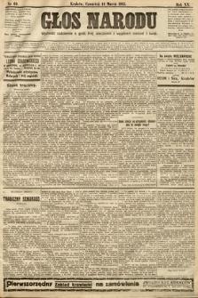Głos Narodu. 1912, nr60