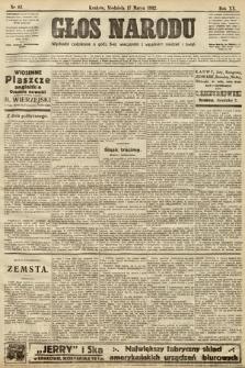 Głos Narodu. 1912, nr63