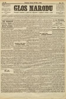 Głos Narodu. 1912, nr68