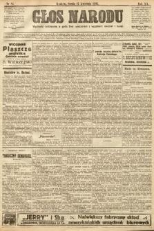 Głos Narodu. 1912, nr87