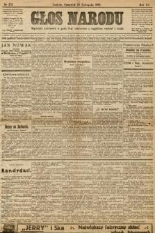 Głos Narodu. 1912, nr272