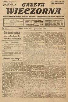Gazeta Wieczorna. 1912, nr915