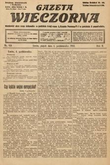 Gazeta Wieczorna. 1912, nr921