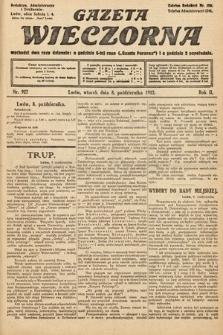 Gazeta Wieczorna. 1912, nr927