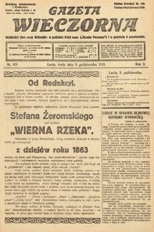 Gazeta Wieczorna. 1912, nr929
