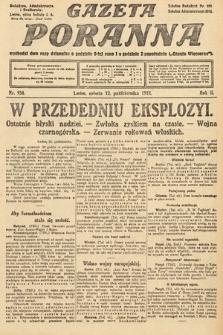 Gazeta Poranna. 1912, nr934