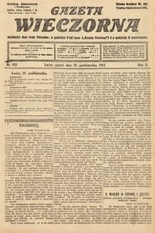 Gazeta Wieczorna. 1912, nr957