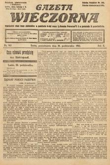 Gazeta Wieczorna. 1912, nr961