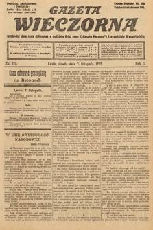 Gazeta Wieczorna. 1912, nr970