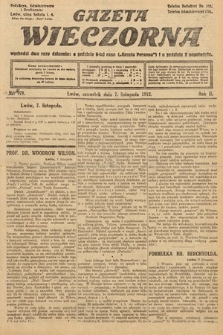 Gazeta Wieczorna. 1912, nr978