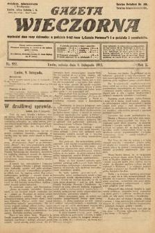 Gazeta Wieczorna. 1912, nr982