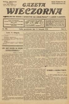 Gazeta Wieczorna. 1912, nr984