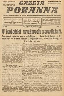Gazeta Poranna. 1912, nr985