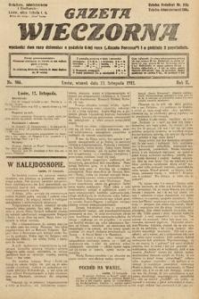 Gazeta Wieczorna. 1912, nr986