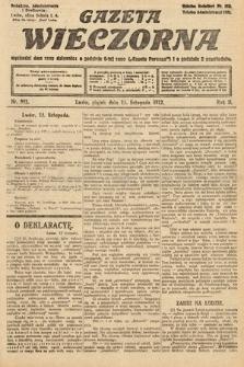 Gazeta Wieczorna. 1912, nr992