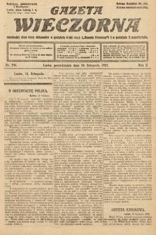 Gazeta Wieczorna. 1912, nr996