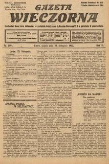 Gazeta Wieczorna. 1912, nr1004