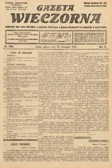 Gazeta Wieczorna. 1912, nr1006