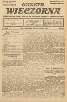 Gazeta Wieczorna. 1912, nr1008