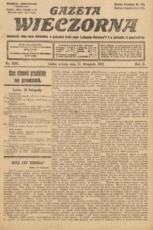Gazeta Wieczorna. 1912, nr1018