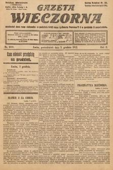 Gazeta Wieczorna. 1912, nr1020