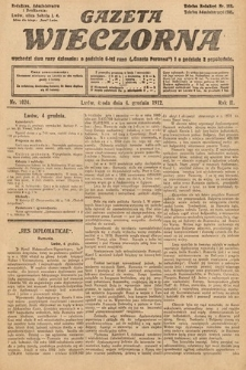 Gazeta Wieczorna. 1912, nr1024