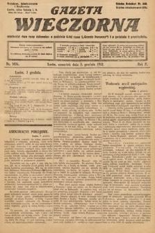 Gazeta Wieczorna. 1912, nr1026