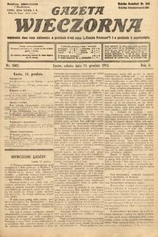 Gazeta Wieczorna. 1912, nr1042