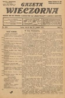 Gazeta Wieczorna. 1912, nr1058