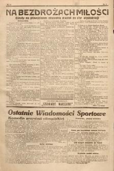 Ostatnie Wiadomości Krakowskie : gazeta popołudniowa dla wszystkich. 1932, nr12