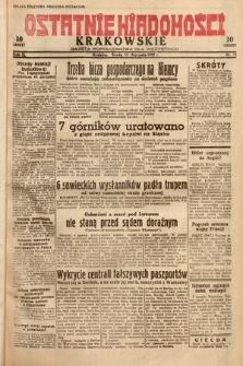 Ostatnie Wiadomości Krakowskie : gazeta popołudniowa dla wszystkich. 1932, nr13