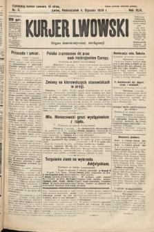 Kurjer Lwowski : organ demokratycznej inteligencji. 1926, nr3