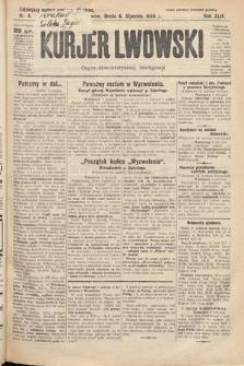 Kurjer Lwowski : organ demokratycznej inteligencji. 1926, nr4