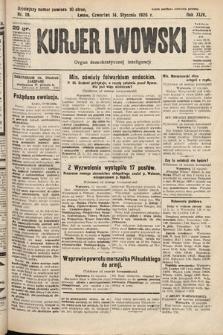 Kurjer Lwowski : organ demokratycznej inteligencji. 1926, nr10