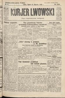 Kurjer Lwowski : organ demokratycznej inteligencji. 1926, nr11