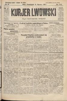 Kurjer Lwowski : organ demokratycznej inteligencji. 1926, nr14