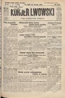 Kurjer Lwowski : organ demokratycznej inteligencji. 1926, nr15