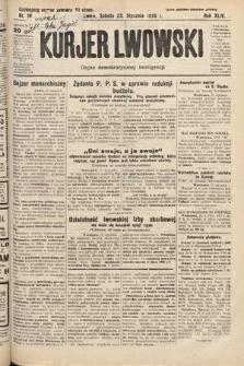 Kurjer Lwowski : organ demokratycznej inteligencji. 1926, nr18