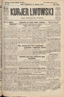 Kurjer Lwowski : organ demokratycznej inteligencji. 1926, nr20