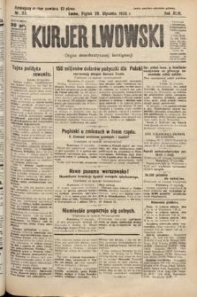 Kurjer Lwowski : organ demokratycznej inteligencji. 1926, nr23