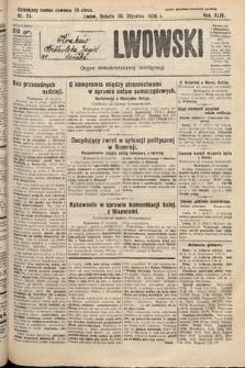 Kurjer Lwowski : organ demokratycznej inteligencji. 1926, nr24
