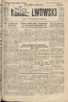 Kurjer Lwowski : organ demokratycznej inteligencji. 1926, nr34