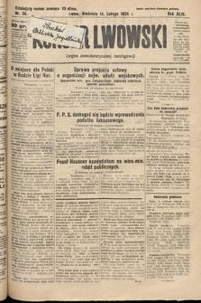 Kurjer Lwowski : organ demokratycznej inteligencji. 1926, nr36