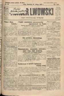 Kurjer Lwowski : organ demokratycznej inteligencji. 1926, nr39