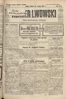 Kurjer Lwowski : organ demokratycznej inteligencji. 1926, nr41