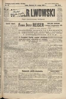 Kurjer Lwowski : organ demokratycznej inteligencji. 1926, nr42