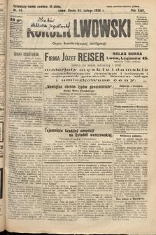 Kurjer Lwowski : organ demokratycznej inteligencji. 1926, nr44