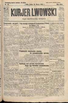 Kurjer Lwowski : organ demokratycznej inteligencji. 1926, nr56