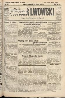 Kurjer Lwowski : organ demokratycznej inteligencji. 1926, nr57