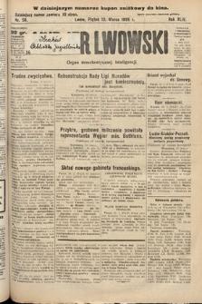 Kurjer Lwowski : organ demokratycznej inteligencji. 1926, nr58